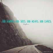 God knows, God sees